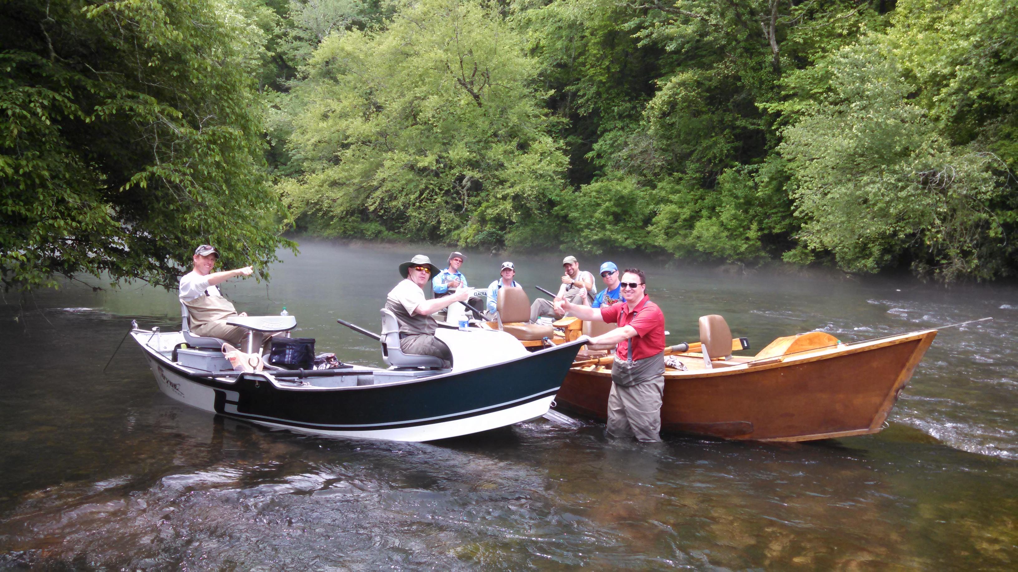 Toccoa River Fishing and Blue Ridge Float Trips | Reel'em ...
