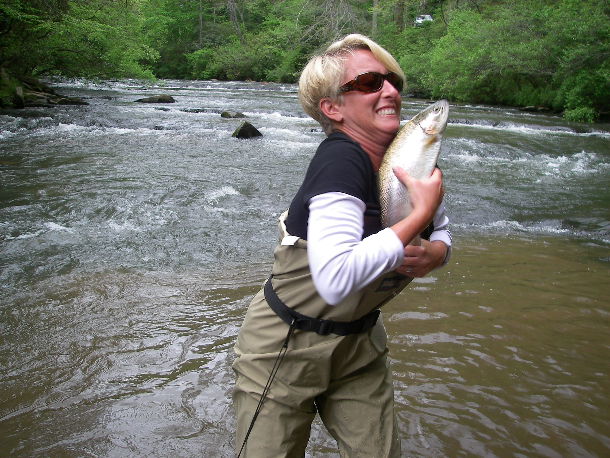 North georgia wade fishing trips reel 39 em in guide service for Fly fishing north georgia