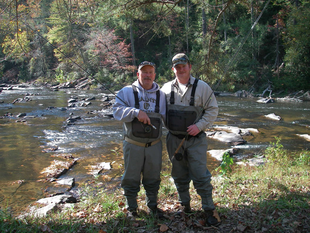Gallery reel 39 em in guide service for Fly fishing north georgia
